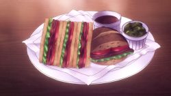 Roast beef sandwiches!Death Parade, Episode 7
