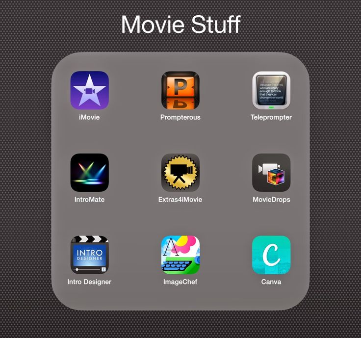 Comfortably 2.0: Great Apps to Complement Your iMovie App