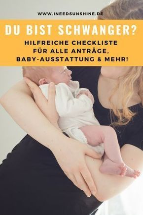 """To Do list for the pregnancy: """"You have to think about that!""""  – Schwangerschaft"""