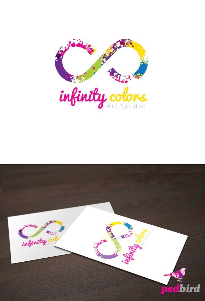 Empresa De Design Gráfico, Símbolo Do Infinito, Logotipo Da Marca, Estúdios  De Arte, Símbolos, Artigos De Papelaria, Logo Template Psd, Logo Ideas, Logo  ...