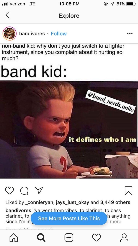 Music memes in 2020 Funny band memes, Band jokes, Band