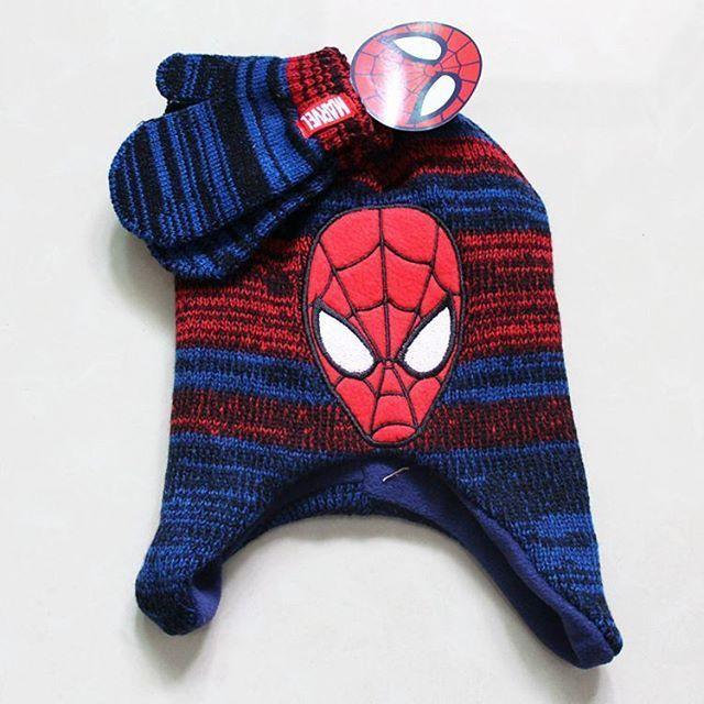 #spiderman #glove #bobblehat #fleeced #cute  #hat #character #accessory #yam #crocheting #crochet #boy  #headwrap #magazine #love #blogger #pattern #new #style  #knitting #modeling #fashion #gift #amazing #fun #snow #design #fashionclothesoutlet #handmade pf15  2-7yrs