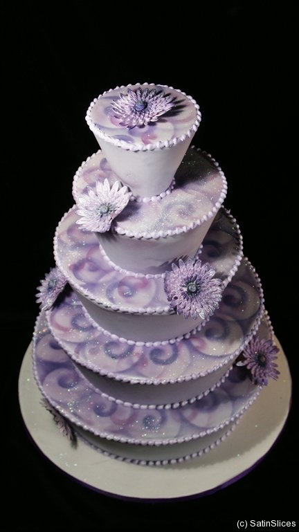 Houston Wedding Cakes | SatinSlices