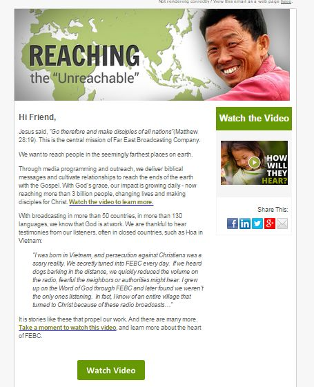 How To Retain New Donors With An Effective Welcome Email