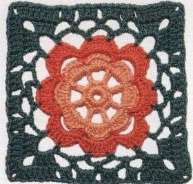 Patrón #1220: Carpeta Flor de Durazno a Crochet | CTejidas [Crochet y Dos Agujas]