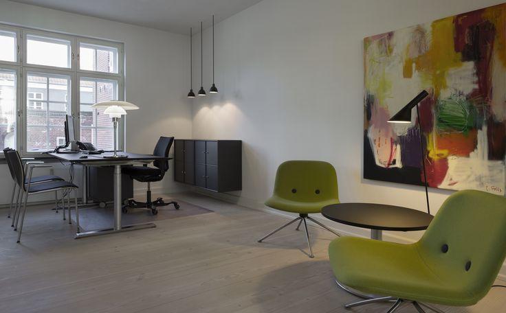 AJ Floor • Danish Design by: Arne Jacobsen • Louis Poulsen.