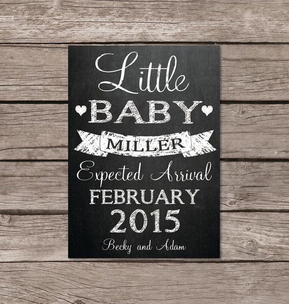 Best 25+ Chalkboard pregnancy ideas on Pinterest   How to tell ...