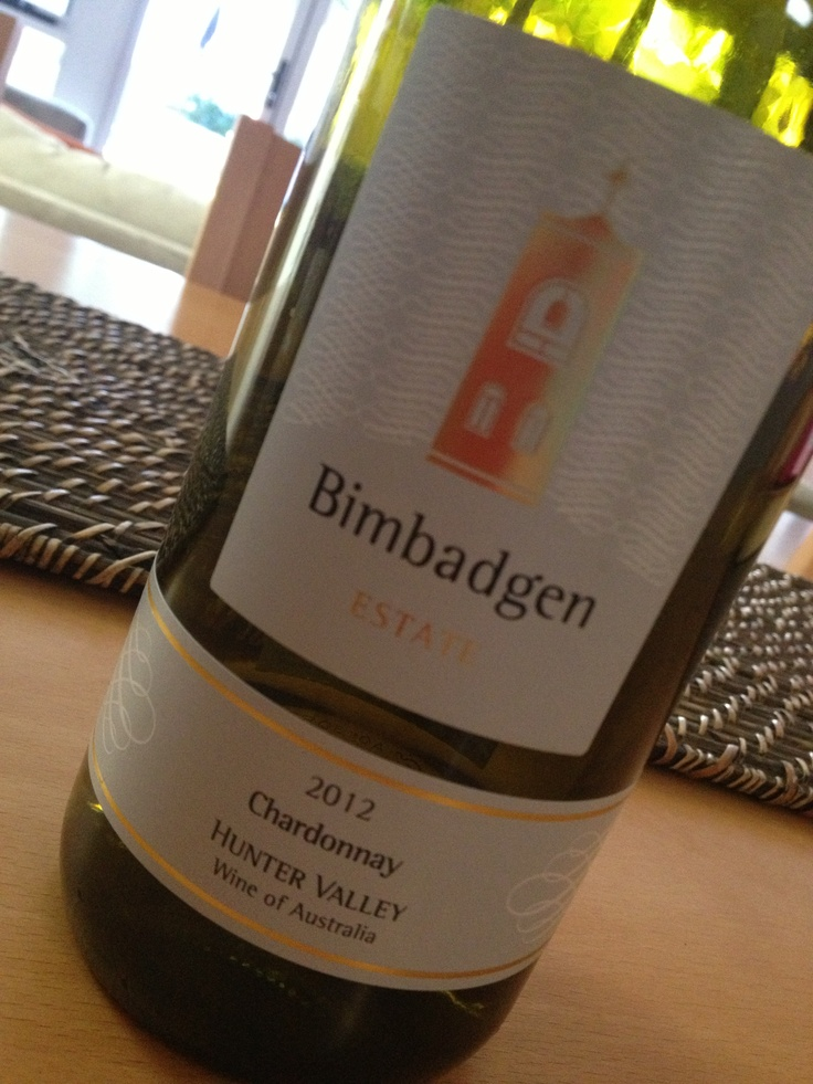 Delicious Chardonnay from Bimbadgen. We enjoyed this with friends over a pizza and was such an enjoyable drop #wine #pizza #chardonnay #hunterwine