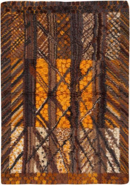 Vintage Rya Rug #45654 http://nazmiyalantiquerugs.com/antique-rugs/moroccan-rugs-vintage-carpets/