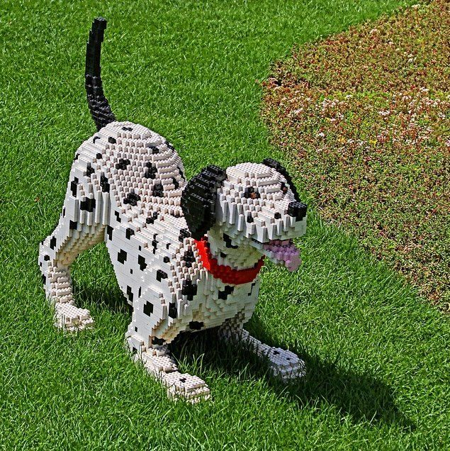 cool lego dog a
