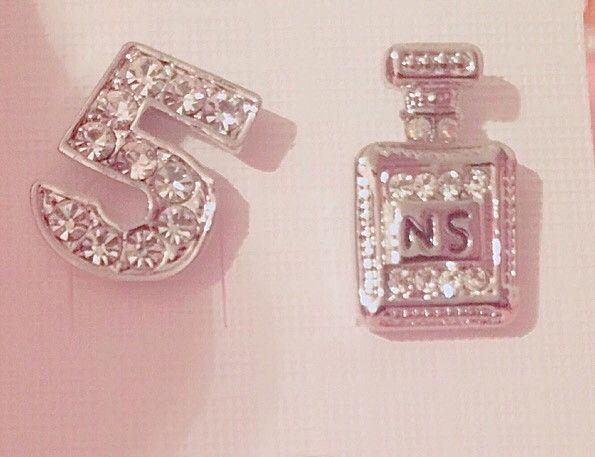 Chanel stud earrings