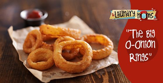 The Big O- Onion Rings ~ Trim Healthy Mama Friendly ~  Who says you can't eat yummy fried food and lose weight? This latest recipe will bring wings night to a new level. Have a hubby not quite convin
