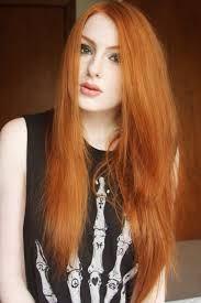 Resultado de imagen para cabello naranja cobrizo