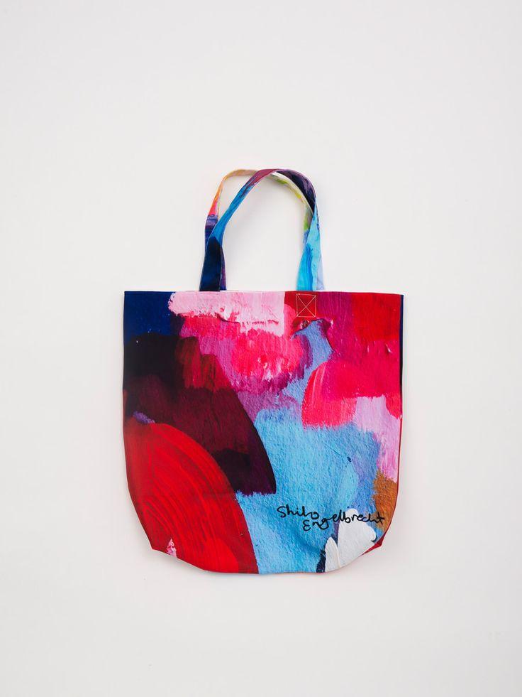 Shilo Engelbrecht - Digitally Printed Tote Bag - lvdalen from Douglas + Bec via The Third Row