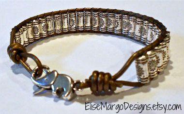 Elephant Clasp Tibetan Prayer Wheel Silver Beads Leather Wrap Bead Bracelet Weaved Lucky by EliseMargoDesigns on Etsy https://www.etsy.com/listing/253159724/elephant-clasp-tibetan-prayer-wheel