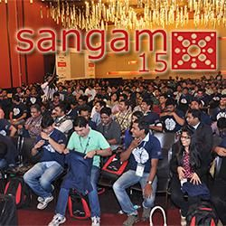 SANGAM is the Largest Independent Oracle Users Group Conference in India, organised annually in the month of November.   We're hosting this year's Sangam (Sangam15 - 7th Annual Oracle Users Group Conference) in Hyderabad International Convention Centre, Hyderabad on Saturday 21st & Sunday 22nd November 2015.