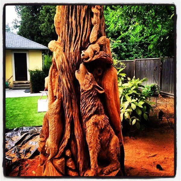 Best carver kings ideas on pinterest chainsaw