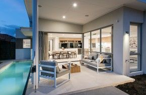 Gallery | Alfresco | Narrow Block Home Designs | Switch Homes