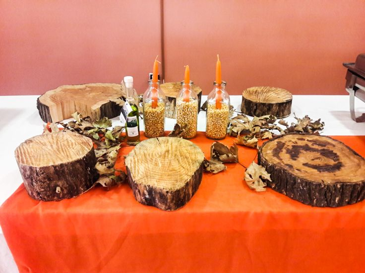 Thanksgiving deco details by F Zone Catering & Events!