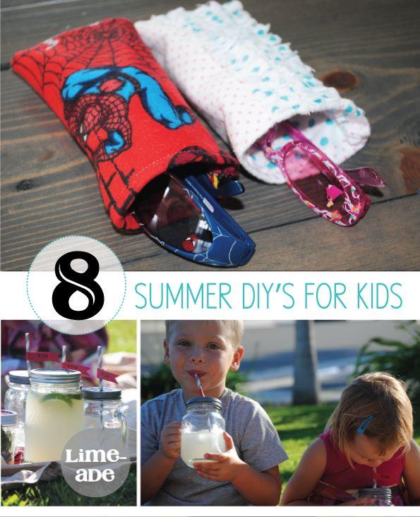 8 Summer DIY's for Kids