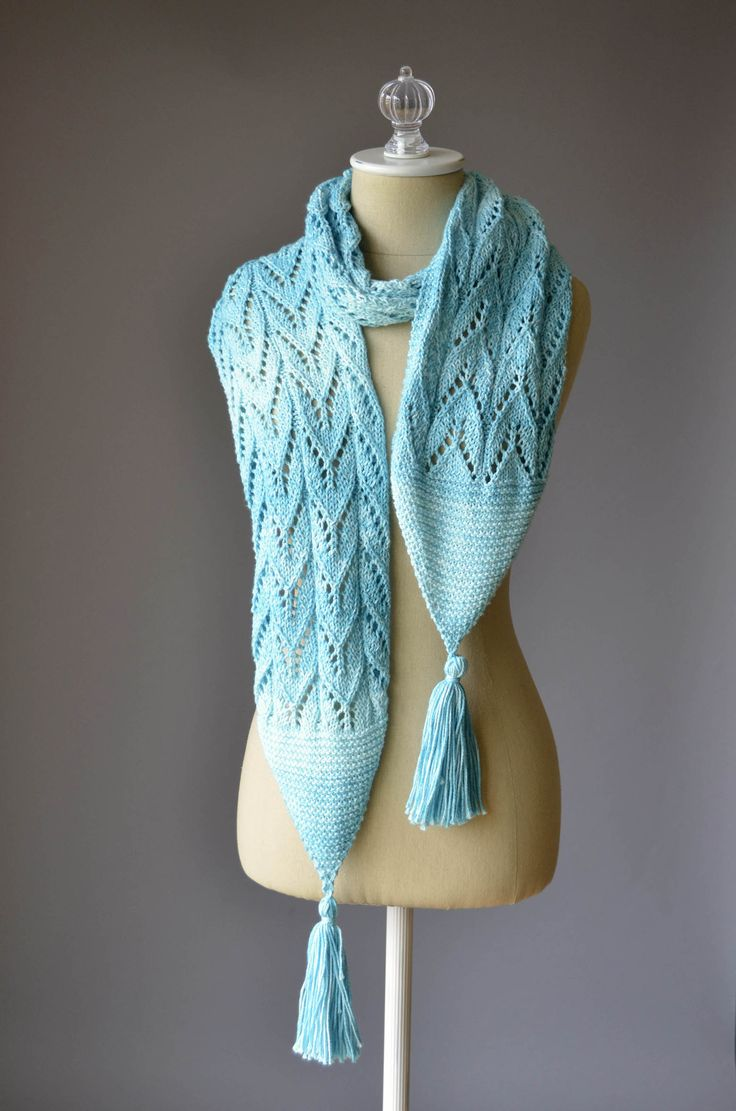 Knitting Pattern Cotton Scarf : 1000+ images about Free Patterns on Pinterest Yarns, Patterns and Sunflower...