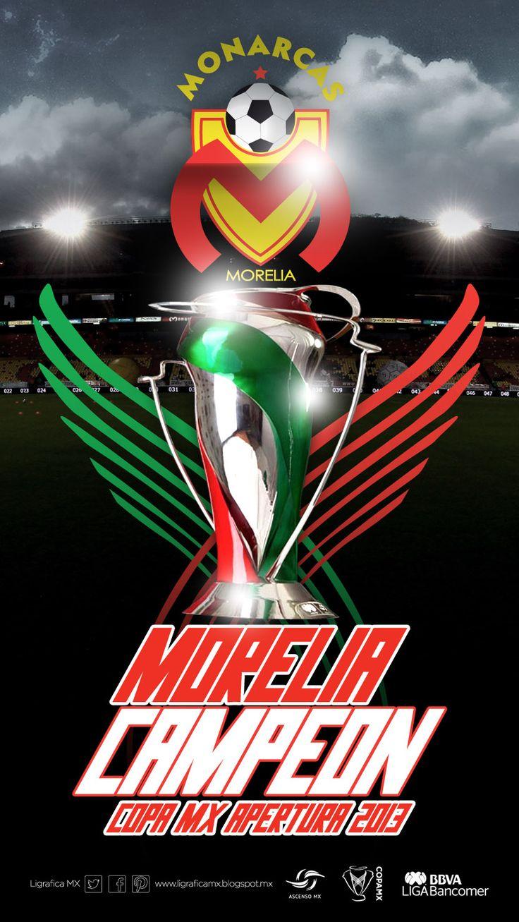 ¡Felicidades Campeón! #Monarcas #Morelia @FuerzaMonarca #CopaMX @Liga Zervena Bancomer MX #LigraficaMX