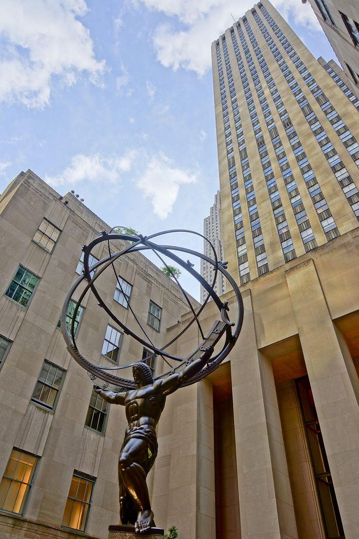 Rockefeller Center ~ Statue of Atlas