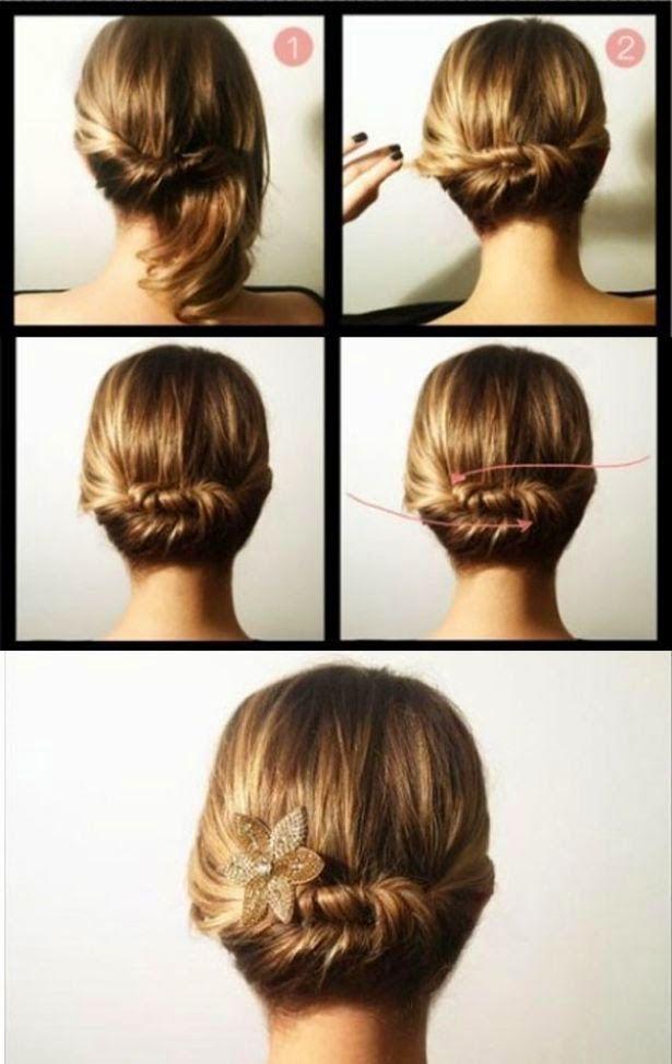 Peinados de mujer: recogido romano paso a paso - Moda femenina
