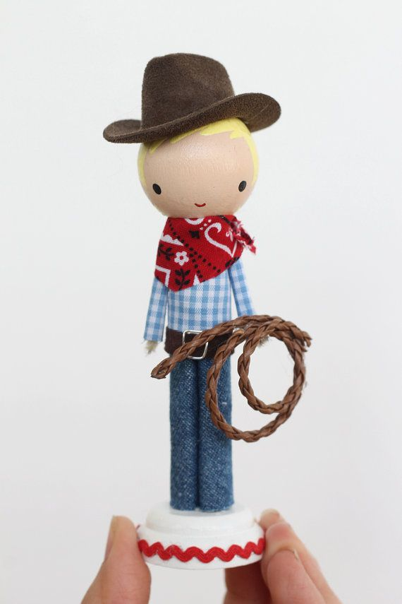 Yeehaw! Its time to round up some country fun with the help from a cowboy/cowgirl pal.    This doll is customizable.