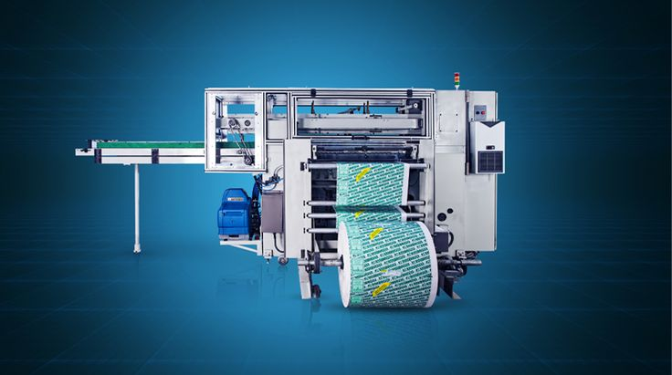 REAMPACK 21 - High-Speed Paper Packing Machine