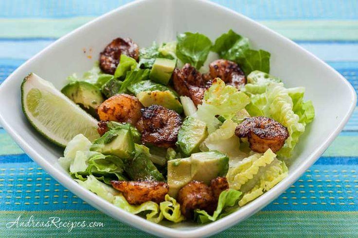 Spicy Mexican Shrimp Salad #15minutemeals