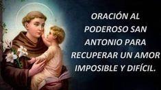 Mhoni Vidente - Horoscopos y Predicciones: Oración al poderoso San Antonio para recuperar un amor imposible