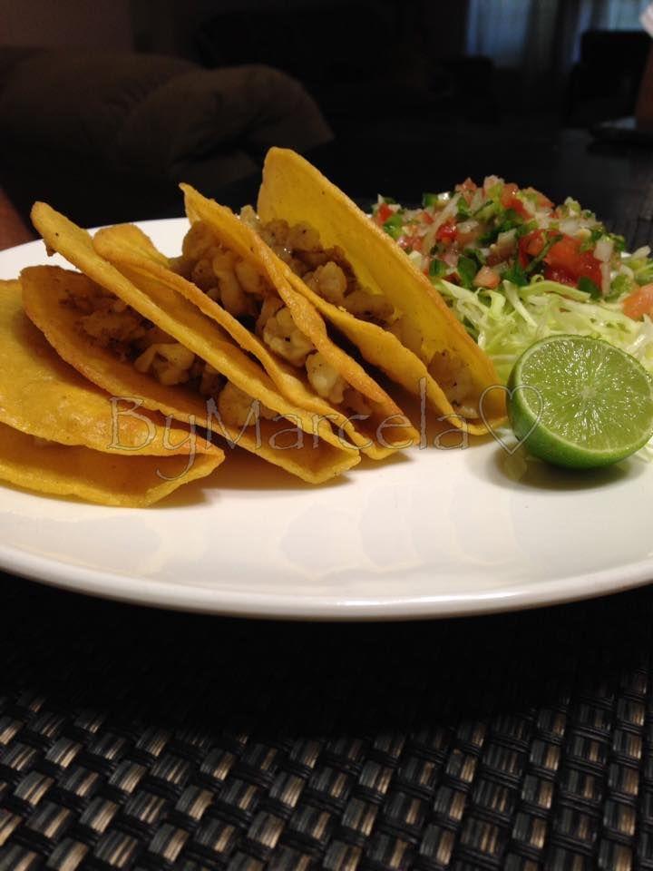Tacos de coliflor por Marcela De Stefano