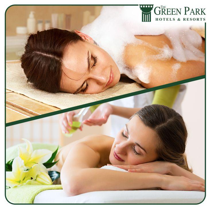 The Green Park Hotel Merter Sağlık Kulübü'nde hangi masajı tercih edersiniz?