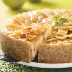 Cinnamon Apple Cheesecake Recipe from Taste of Home