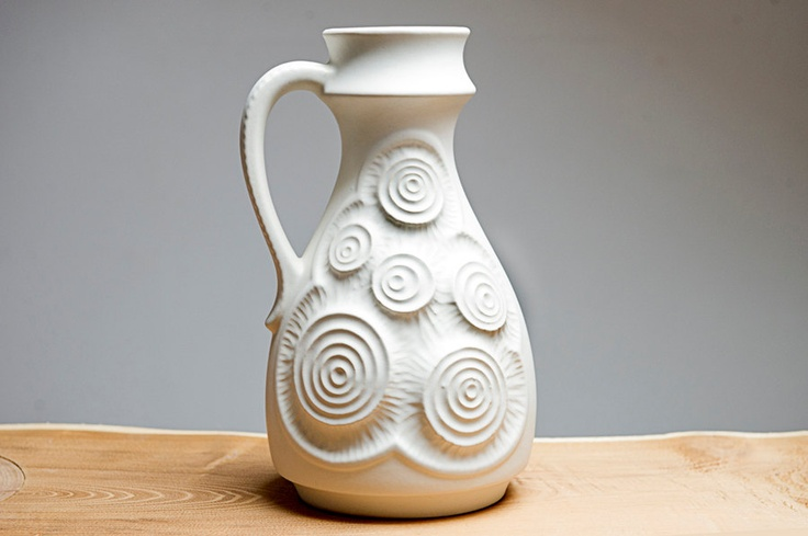 West German vase by Bay 8530 by Eclectivist on Etsy, $52.00