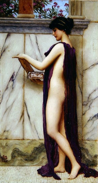 John William Godward by hauk sven, via Flickr