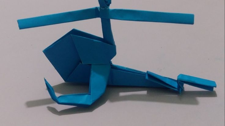 how to make helicopter from paper