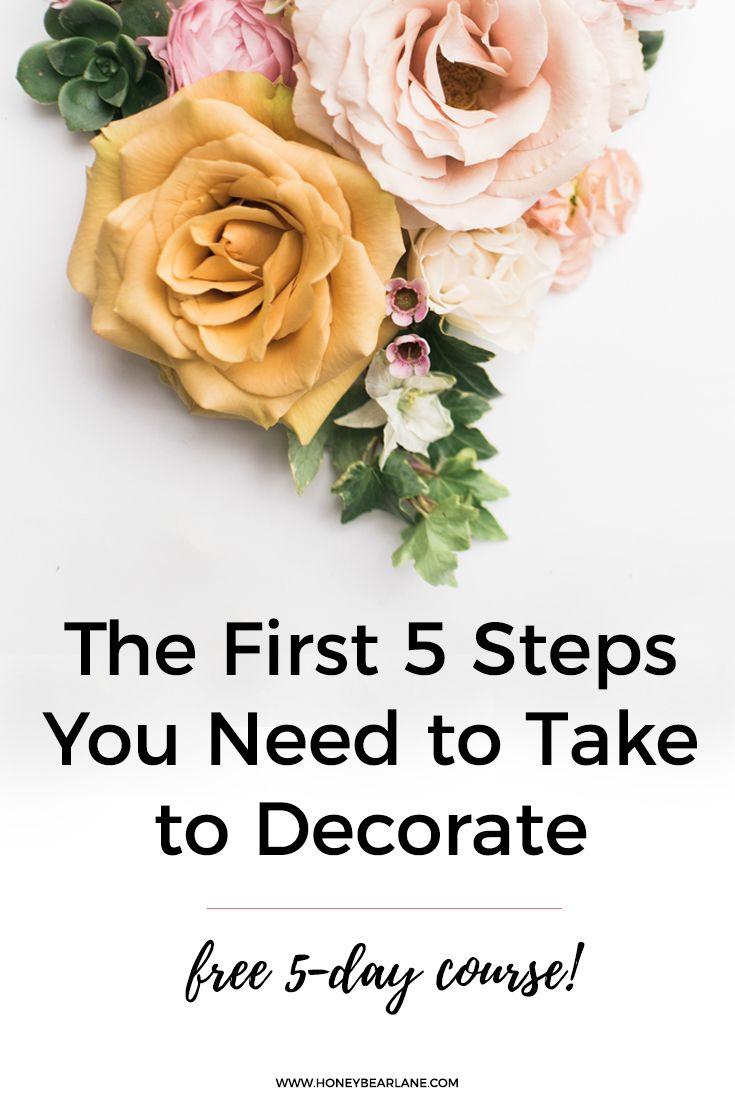 Free home decorating course!