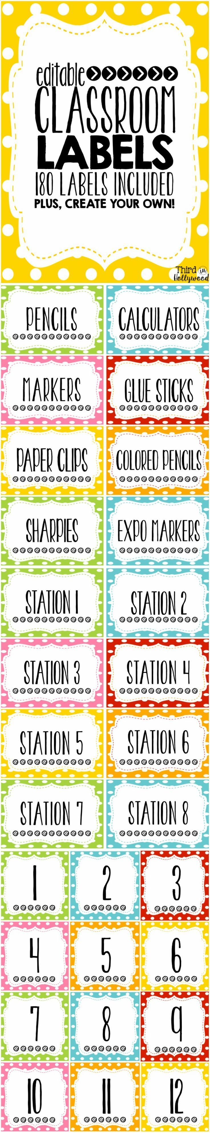 Classroom Labeling Ideas ~ The best classroom labels ideas on pinterest supply