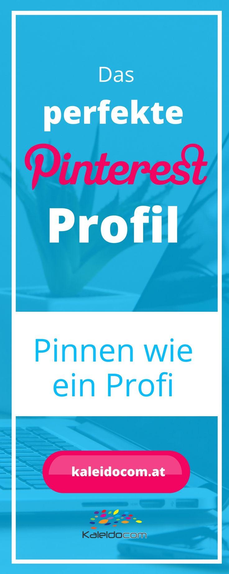 In Deinem Pinterest Profil musst Du kurz und knackig darstellen, worum es in Deinem Account geht. Wir zeigen, wie es perfekt wird.