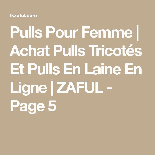 Pulls Pour Femme   Achat Pulls Tricotés Et Pulls En Laine En Ligne   ZAFUL - Page 5
