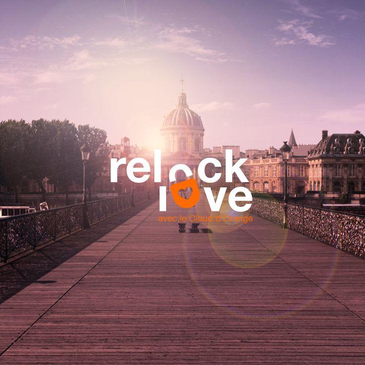 Relock love -- Les cadenas accrochés au pont des Arts n'ont pas disparus ! Les 40 000 cadenas sont à retrouver sur Relock Love. #lovelock #paris #pontdesarts