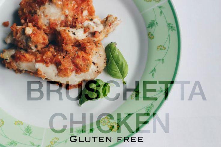 P E T I T E O L I V E bruschetta chicken gluten free recipe dinner