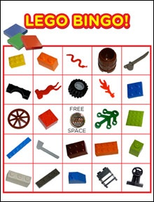 Lots of Lego Party games