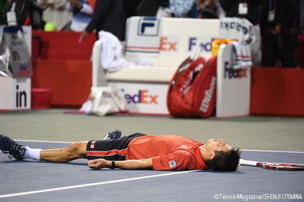 錦織圭がラオニッチを破り、2年ぶり2度目の優勝 [楽天ジャパンオープン]|国内国際|ニュース|THE TENNIS DAILY