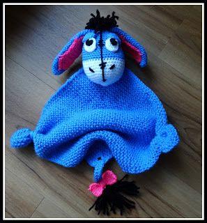 FREE PATTERN Fanny Colorful World: Crochet Kuscheltuch ass