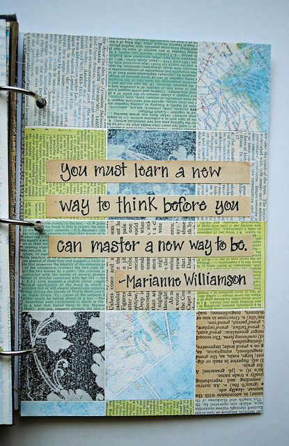 <3 Art journal inspiration. Collage-2 | Flickr - Photo Sharing!