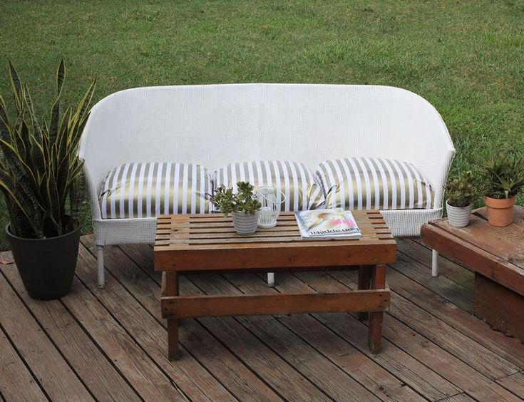 Project Restyle: Outdoor Couch - A BEAUTIFUL MESS