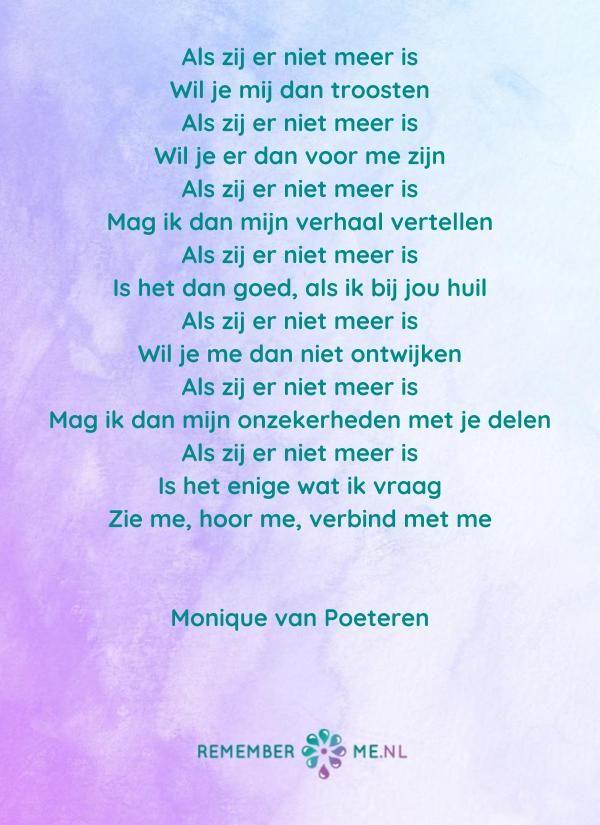 Spiksplinternieuw Lees gedichten over rouw en verlies   Gedichten, Gedicht citaten, Rouw XQ-58